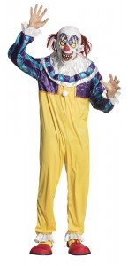 Costume clown terrifiant halloween homme
