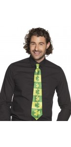Cravate Saint Patrick verte