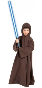 Cape chevalier knight-marron enfant Halloween 116 cm