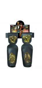 Ceinture de cowboy adulte à double holster