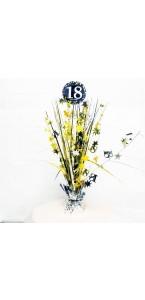 Centre de table Sparkling Celebration 18 ans 45,7 cm