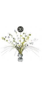 Centre de table Sparkling Celebration 30 ans 45,7 cm