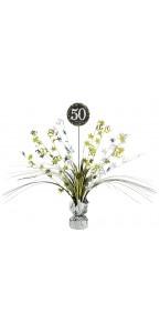 Centre de table Sparkling Celebration 50 ans 45,7 cm