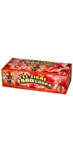 Chaîne de pétards Le tigre 1500 coups