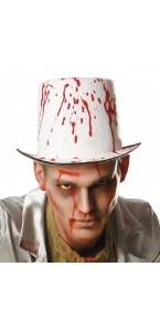 Chapeau Blood spatters Halloween