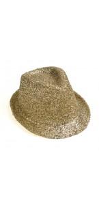 Chapeau Borsalino doré