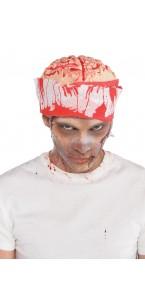Chapeau cerveau Halloween