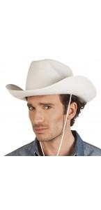 Chapeau de cowboy blanc