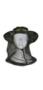 Chapeau de militaire avec moustiquaire
