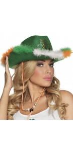 Chapeau irlandaise vert