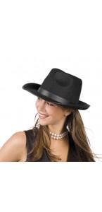Chapeau Mafia noir