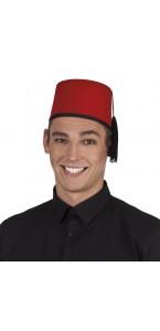 Chapeau Marocain rouge