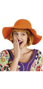 Chapeau souple orange