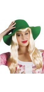 Chapeau souple vert
