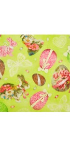Chemin de table Easter 30 cm x 5 m