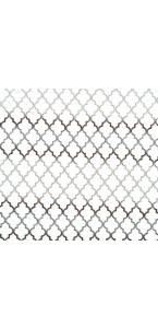 Chemin de table Elektra noir pailleté 28 cm x 5 m