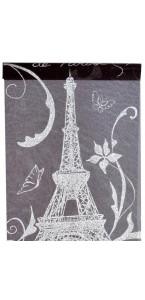 Chemin de table noir Paris 28 cm x 5 m