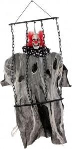 Clown mouvant Halloween 65 x 70 x 8 cm