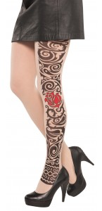 Collant Tattoo Halloween