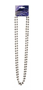 Collier de perles argent