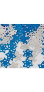 Confettis de table Etoile de David