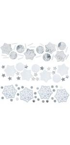 Confettis Flocon de neige 34 gr