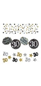 Confettis Sparkling Celebration 30 ans 34 gr