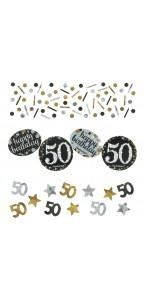 Confettis Sparkling Celebration 50 ans 34 gr