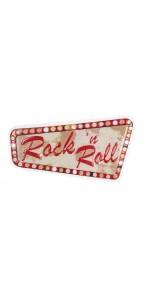 Déco murale Rock 'n Roll 60 x 33 cm