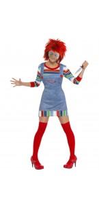 Déguisement poupée Chucky femme Halloween