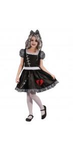 Déguisement Apprentie zombie fille Halloween