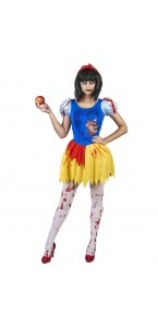 Déguisement Blanche Neige zombie femme Halloween