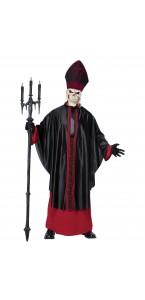 Déguisement Cardinal noir Halloween