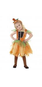 Déguisement Citrouille Mignonne fille Halloween