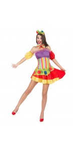 Déguisement Clown sexy Halloween femme
