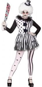 Déguisement clown tueur femme Halloween