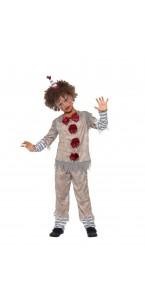 Déguisement clown vintage Halloween garçon