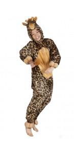 Déguisement Girafe peluche kigurumi enfant max 1m16