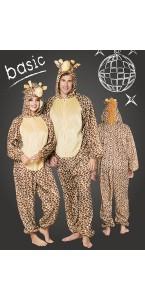Déguisement Girafe peluche kigurumi