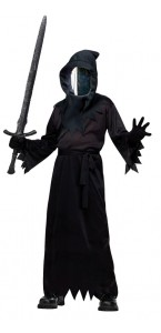 Déguisement La mort masque miroir Halloween