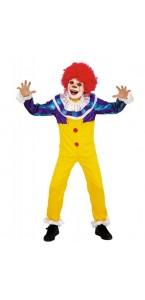 Déguisement Petit Clown terrifiant enfant Halloween