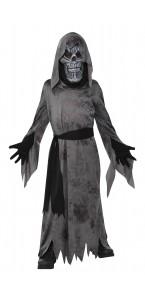 Déguisement tête de mort garçon Halloween