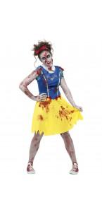 Déguisement Zombie Blanche Neige Halloween adolescent