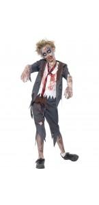 Déguisement Zombie écolier Halloween garçon