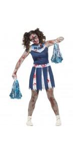 Déguisement Zombie pompom girl Halloween adolescente