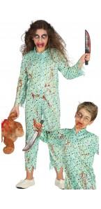 Déguisement Zombie en pyjama Halloween garçon