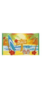 Drapeau Beach 90 x 150 cm