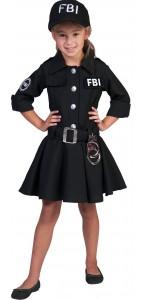 Déguisement Agent FBI fille