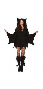Déguisement chauve-souris femme Halloween taille L