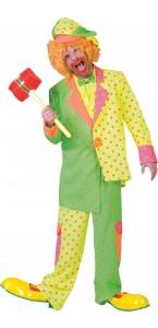 Déguisement Clown Fluo homme